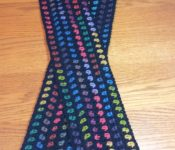 City Lights Scarf-Free Crochet Pattern