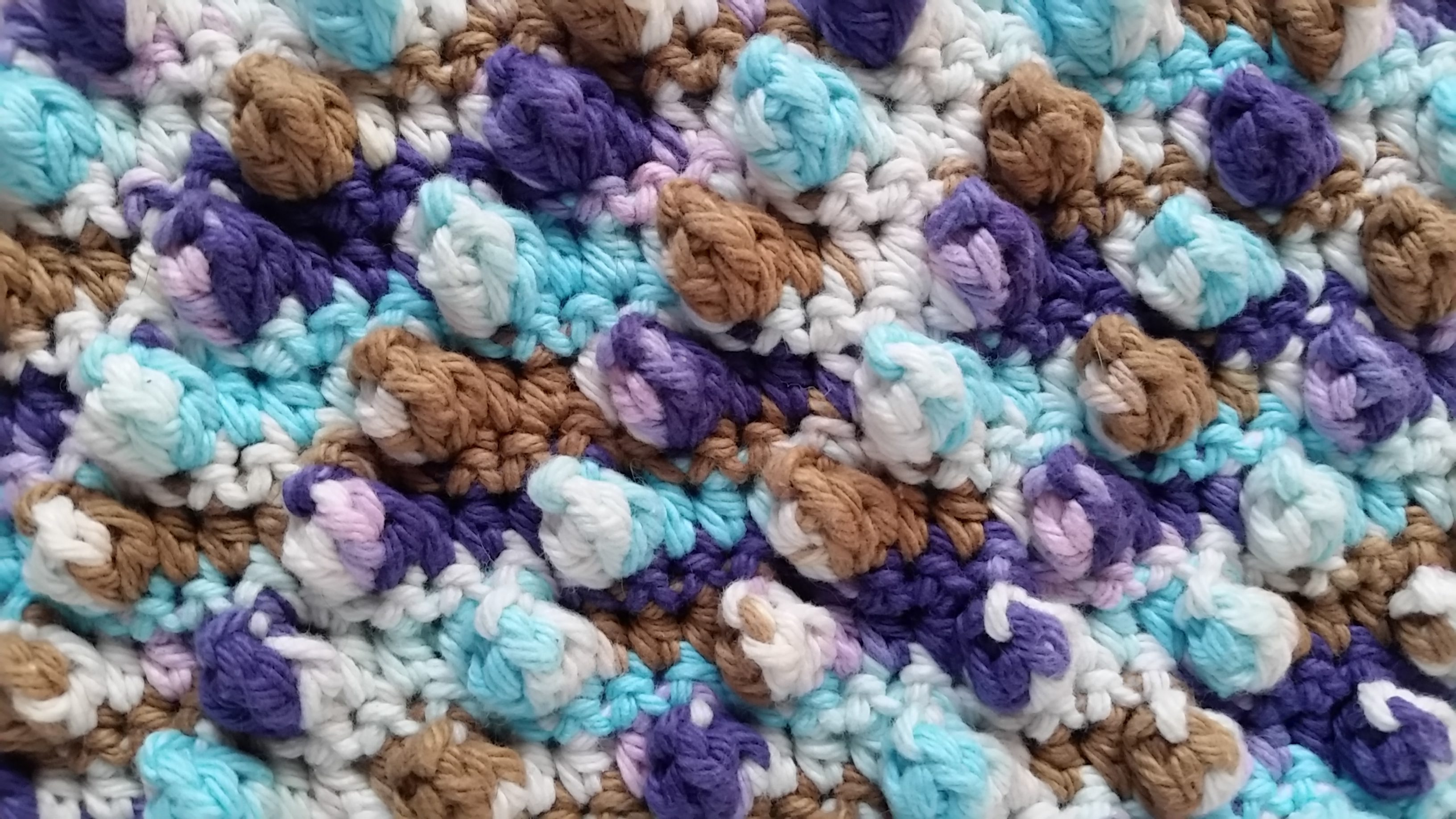 Free Crochet Pattern French Press Cozy Close up