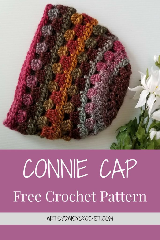 CONNIE CAP Free Crochet Pattern
