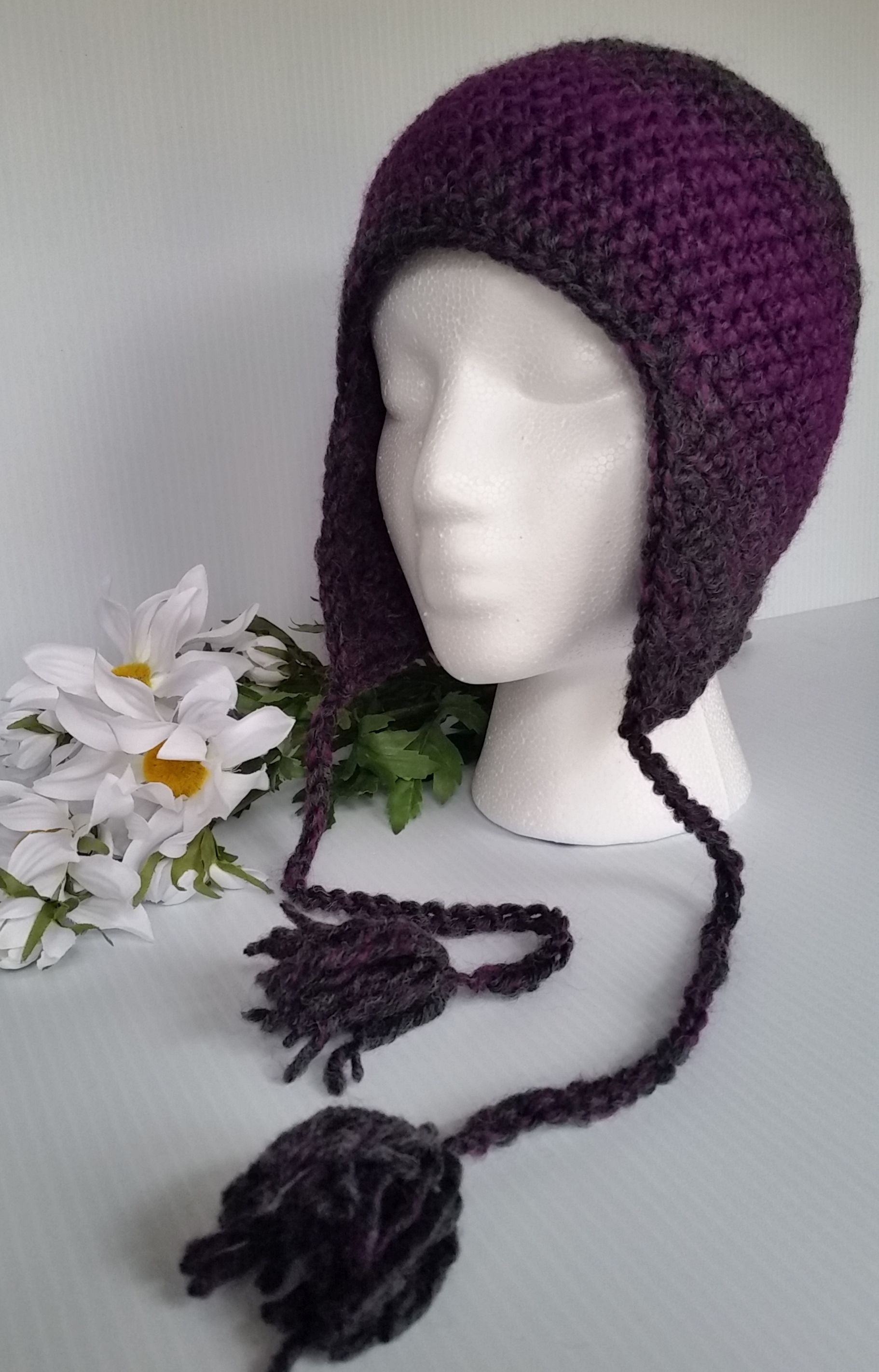 Adult Winter hat with Ear Flaps